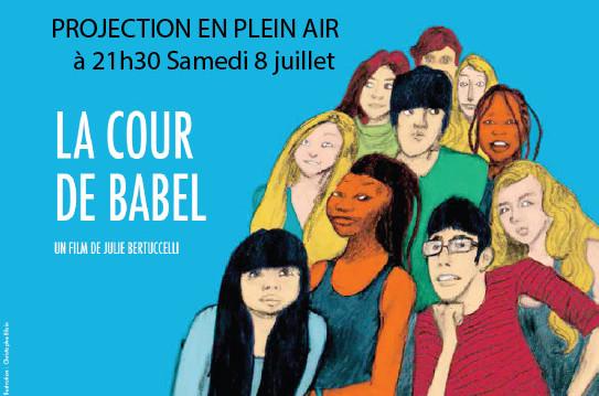 Projection en plein air avec Zone Vive Paris 20ème le 8 juillet 2017, FestivalvCiné-Voisins