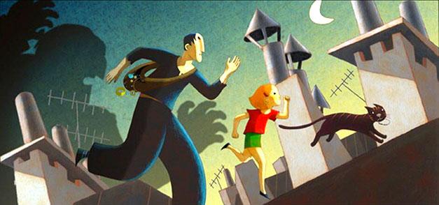 Image du film d'animation une vie de chat