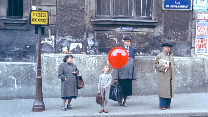 Le ballon rouge d'Albert Lamorisse