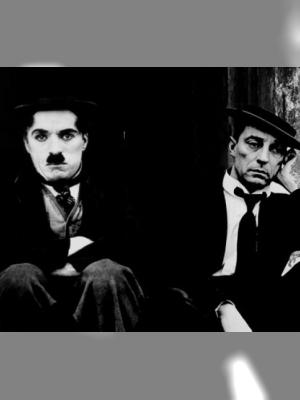 Chaplin et Keaton
