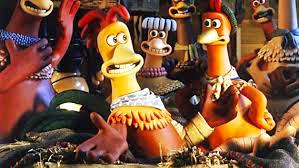 Une des poules du film