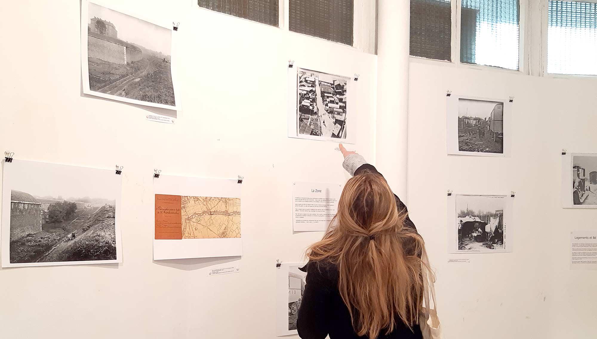 Exposition sur la Zone de Paris